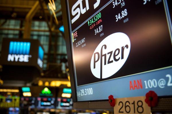 pfizer-shares