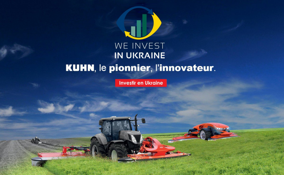 We invest in Ukraine: KUHN (France)