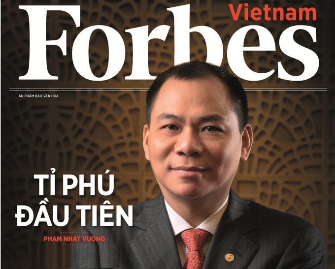 Former owner of domestic Mivina becomes richest man of Vietnam