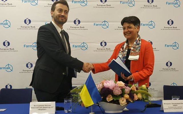 EBRD supports leading Ukrainian pharmaceutical manufacturer Farmak