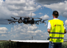 Chernovetskyi Investment Group invests in drones for spraying crops