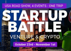 4 Startup Battles, Venture & Crypto in the USA