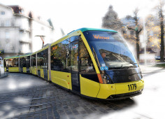 Lviv completes new, EBRD-financed fast tram line and introduces e-ticket system