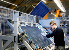 Domestic KNESS holding to start solar panels production by 2019