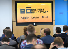 USAID-supported eō Business Incubators Holds First Demo Day in Ukraine