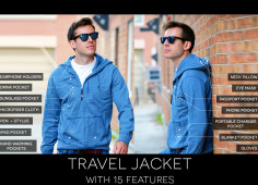 All-in-One Travel Jacket Raised $1 Million on Kickstarter