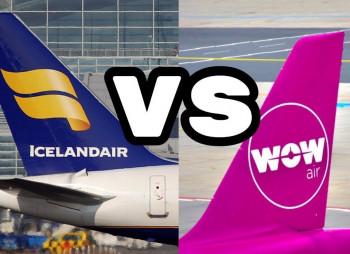 Icelandair и Wow Air