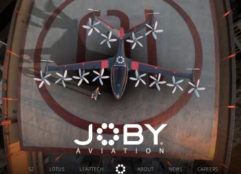 Toyota вложит $394 млн. в создателя электрических аэротакси Joby Aviation