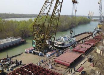 АгроВиста строит крупнейшую в Украине баржу для перевозки зерна