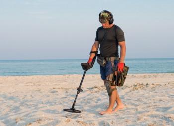 Beach-Metal-Detector
