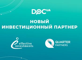 Медицинский сервис doc.ua привлек инвестиции частного фонда Quarter Partners