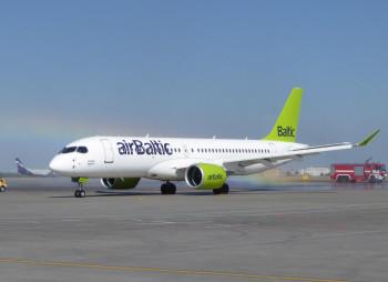 Латвия выделяет €250 млн. авиакомпании airBaltic