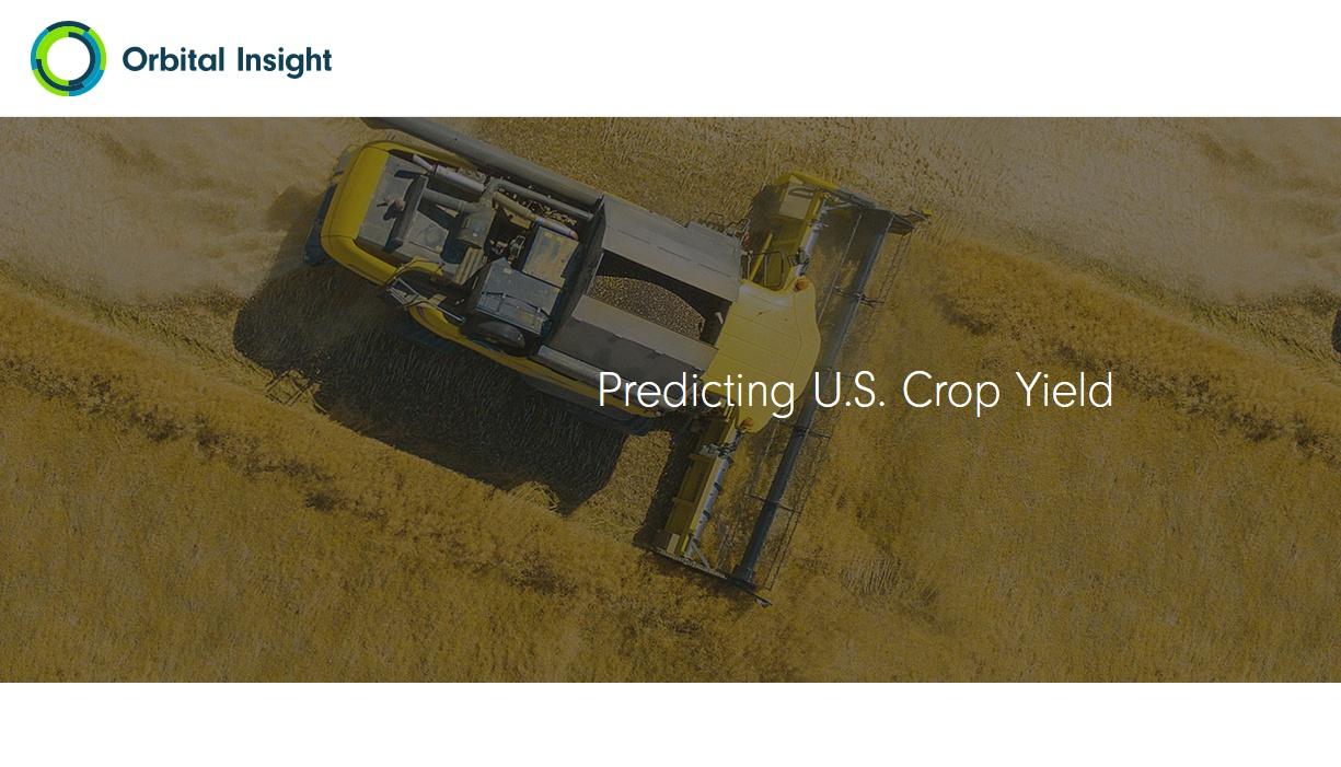 Orbital Insight - AgTech