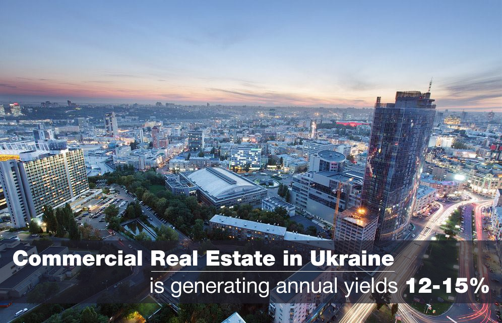 yields - ukraine - real estate