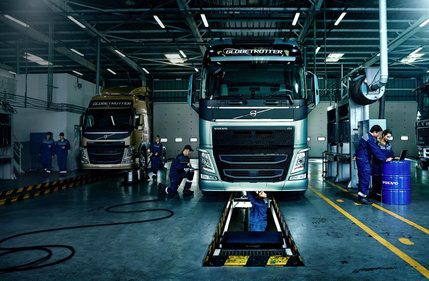 Рынок СТО грузовых автомобилей в Украине
