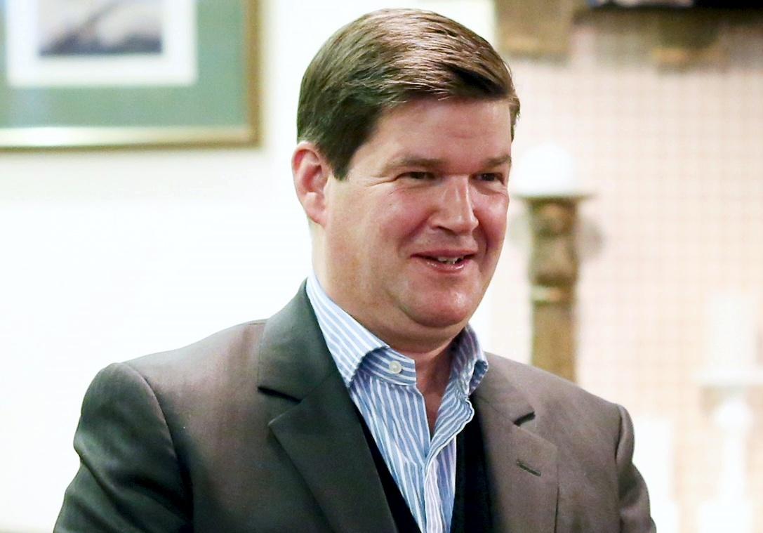 Пол Холловей, генеральный директор Japan Tobacco International (JTI) в Украине
